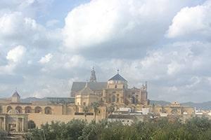 2.R og 2.T besøgte bl.a en katedral, som blev grundlagt som en moske i 700-tallet